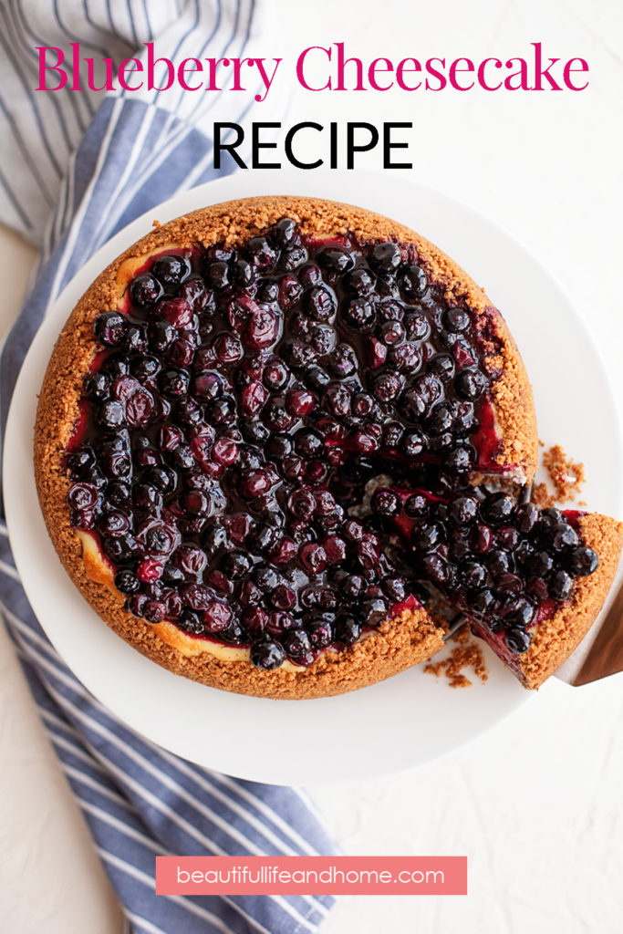 Amazing Blueberry Cheesecake Recipe!