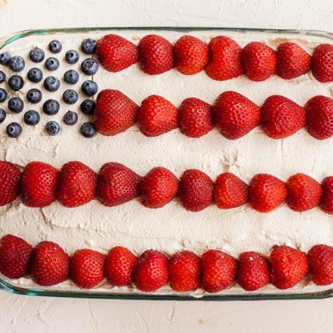 4th of July Cake (Flag Cake)