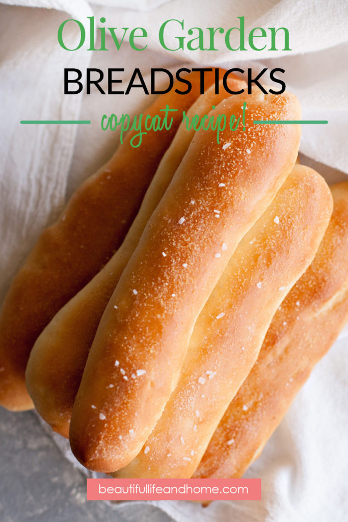 No trip to the Olive Garden would be complete without their signature garlicky, buttery breadsticks! This Copycat Olive Garden Breadsticks Recipe is super simple and pairs well with your favorite soup, pasta, or salad!